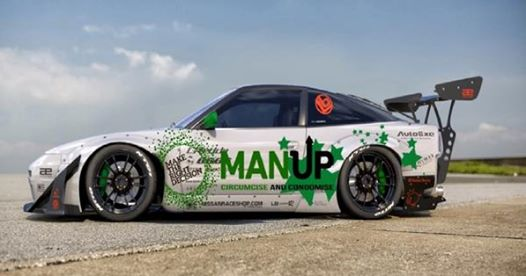 Cape Town's drifters support Man Up campaign