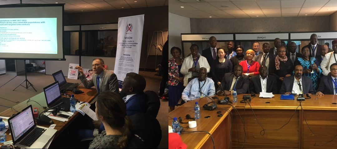 The Pan-African Parliament hears from TB HIV Care
