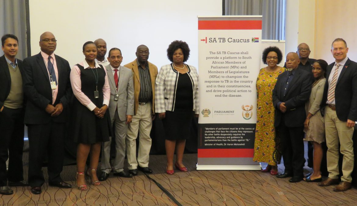 SA TB Caucus- work begins!